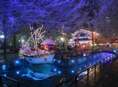 Драма и Коледният град Онируполи с нощувка